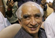 Former Union minister Jaswant Singh passed away Sunday after having been in a coma for six years | Photo: Pankaj Nangia | By special arrangement