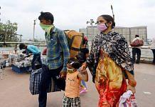 Bus passengers at Anand Vihar ISBT in Delhi | Representational image | Suraj Singh Bisht | ThePrint