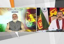 Prime Minister Narendra Modi during the virtual bilateral meet with Sri Lankan PM Mahinda Rajapaksa on 26 September 2020   ANI Twitter