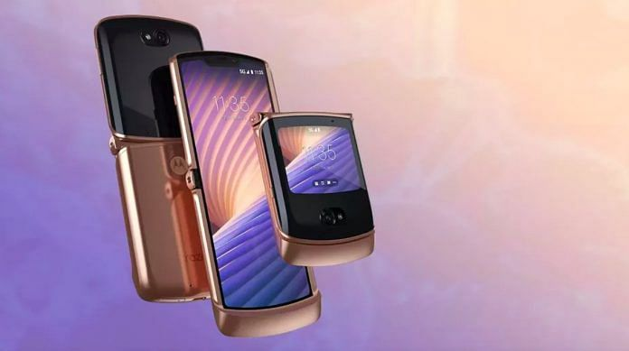 Motorola's new Razr 5G   Motorola