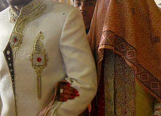 Muslim wedding in pakistan