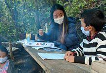 A teacher and student in a remote village in Nagaland (representative image) | Photo: Yimkumla Longkumer | ThePrint