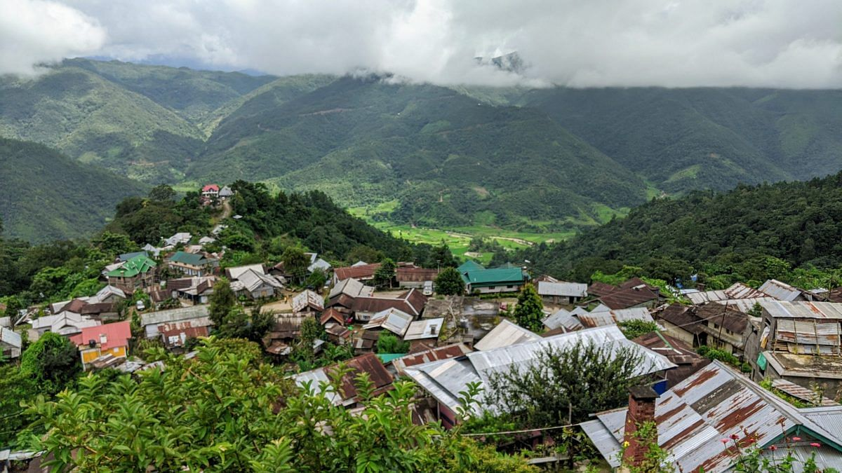 Somdal, a Tangkhul Naga village, located in Manipur is the hometown of the NSC (I-M) chief Thuingaleng Muivah | Yimkumla Longkumer | ThePrint