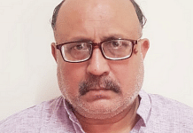 File photo of journalist Rajeev Sharma who was arrested on 14 September under the Official Secrets Act | Twitter | @ANI