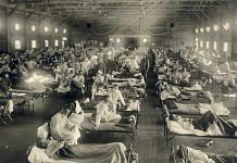 Patients under treatment during the Spanish Flu pandemic, which lasted from 1918-1920 | Representational photo | Commons