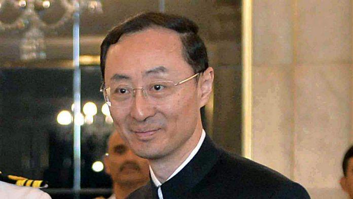 Chinese ambassador to India Sun Weidong | Photo: ANI