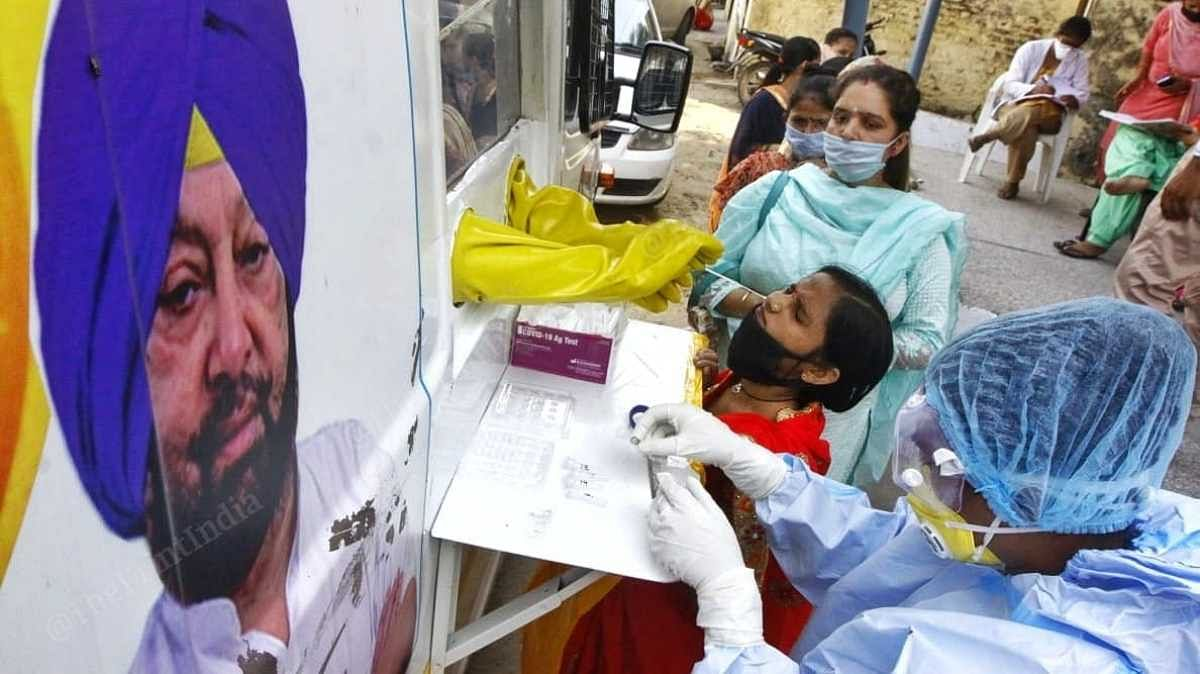 Residents of Bakarpur get tested | Praveen Jain | ThePrint