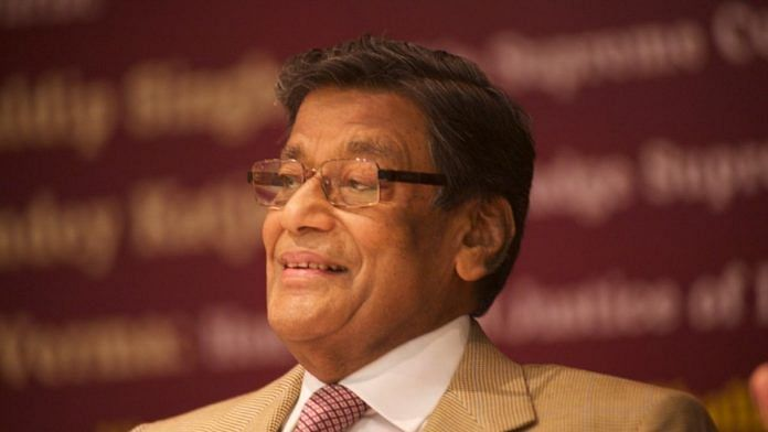 File photo of Attorney General K K Venugopal | Commons