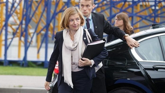 File photo of French Defence Minister Florence Parly | Commons