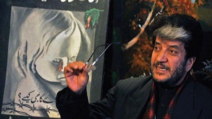 Kashmiri separatist leader Shabir Shah   Twitter @SeharShabirShah