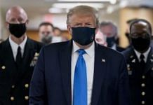 A file photo of Donald Trump at Walter Reed National Military Medical Center in Bethesda, Maryland | Chris Kleponis | Bloomberg