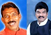 MP ministers Tulsi Silawat (left) and Govind Singh Rajput | Twitter and Facebook