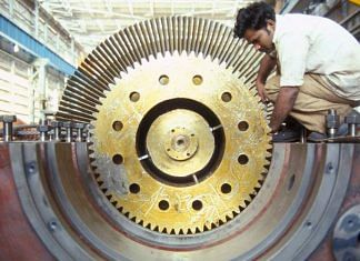 Representational image of a worker at a factory in India   Flickr