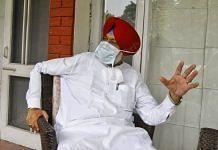 Punjab Health Minister Balbir Singh Sidhu in Chandigarh. | Photo: Praveen Jain/ThePrint