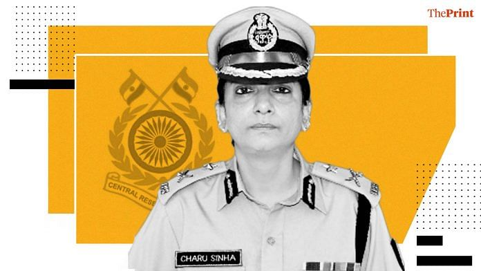 IPS officer Charu Sinha | Photo credit: CRPF