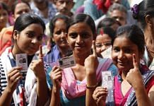 First-time voters in Delhi assembly election | Photo: ThePrint