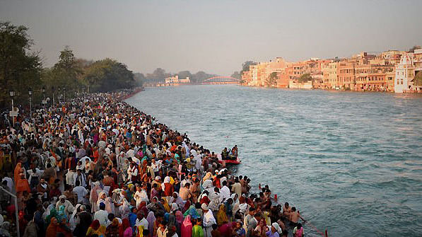 File photo of Kumbh Mela at Haridwar in 2010