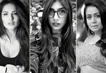 (L-R) Former adult film stars Sunny Leone and Mia Khalifa and Bollywood singer Neha Kakkar have found their names emerge on college admission lists in Bengal