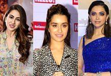 Bollywood actors Sara Ali Khan, Shraddha Kapoor and Deepika Padukone | Wikipedia Commons