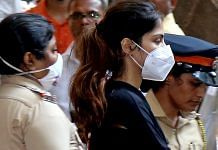 Actor Rhea Chakraborty being taken for medical examination after being arrested by the Narcotics Control Bureau in a drugs case Tuesday | ANI Photo