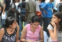 Representational image of college students | du.ac.in