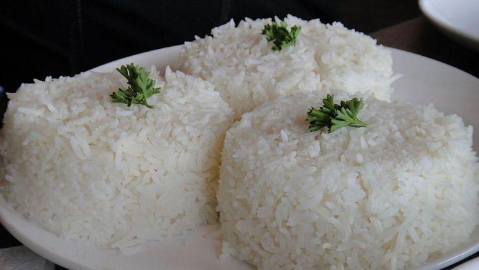 Representational image of white rice. | Photo: Commons
