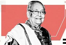 Actor Soumitra Chatterjee | Illustration by Ramandeep Kaur | ThePrint