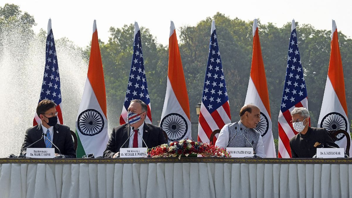 With a message for Pakistan and China, India & US conclude 2+2 talks, vow to deepen ties