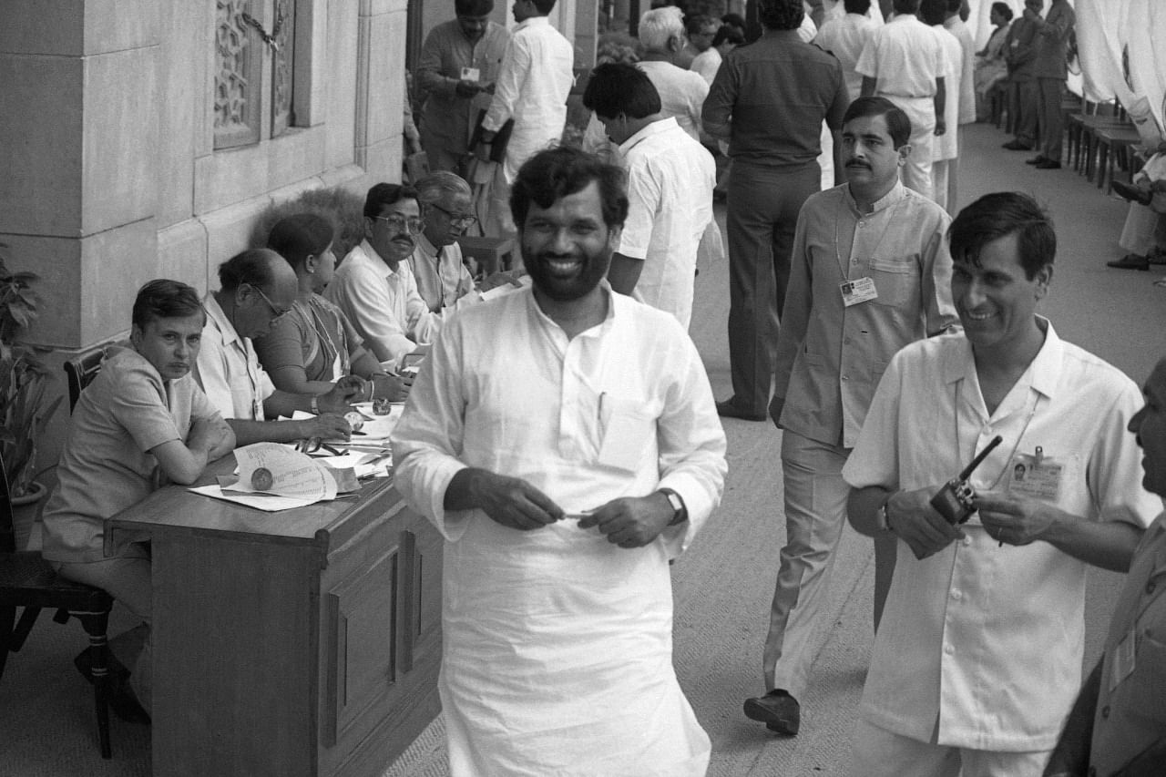 Ram Vilas Paswan emerged as a political force in Bihar as he was perceived to be the Paswan community of Dalits | Photo: Praveen Jain