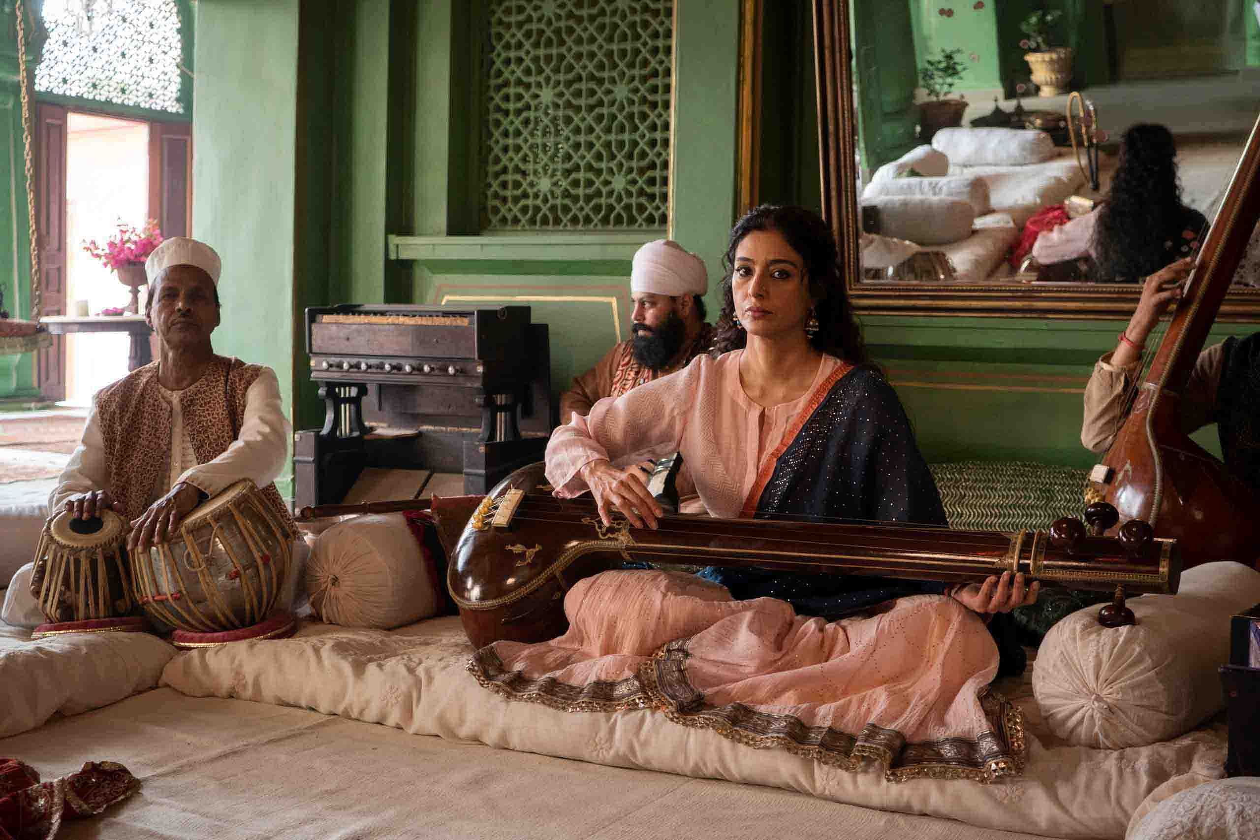 Actor Tabu in a still from the series 'A Suitable Boy' | By special arrangement