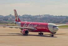 File image of an Air Asia Aircraft | Wikipedia Commons