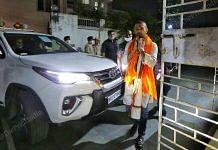 LJP chief Chirag Paswan outside his residence in Patna | Praveen Jain | ThePrint