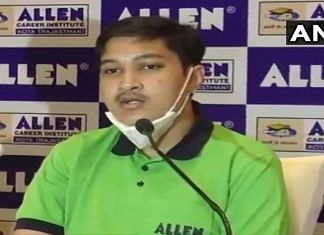 Odisha's Soyeb Aftab bagged the top rank in NEET, attaining a perfect score | Twitter/@ANI