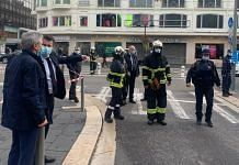 The knife attack which happened in France's Nice city Thursday has left at least 3 people dead and several injured | Twitter: @cestrosi