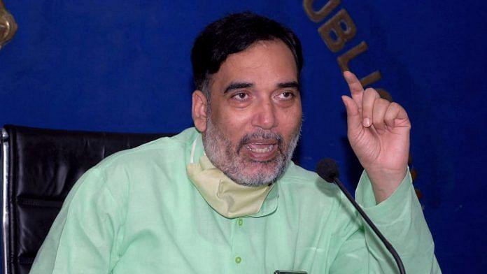Delhi Environment Minister and AAP leader Gopal Rai | Photo: ANI
