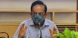 Union Health Minister Dr Harsh Vardhan | Photo: ANI