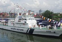 The Coast Guard ship named after Assamese freedom fighter Kanaklata Barua | Twitter | @IndiaCoastGuard