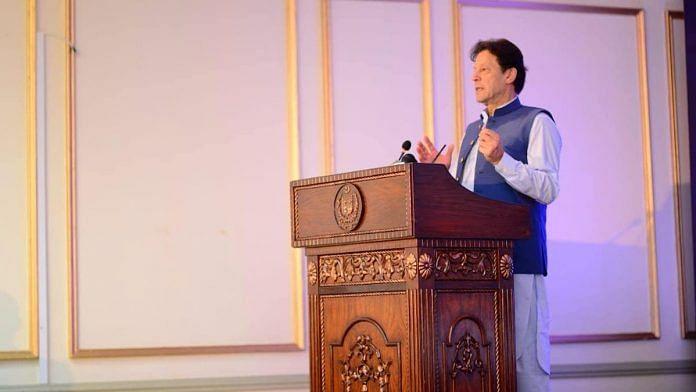 File photo of Pakistan Prime Minister Imran Khan | Facebook/ImranKhanOfficial