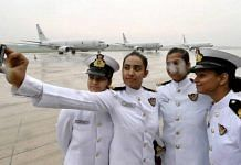 Representational image of women officers in the Indian Navy | YouTube