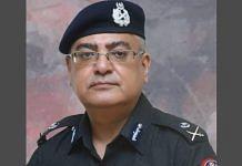 Inspector General of Sindh police Mushtaq Mahar (file photo) | Twitter | @sindhpolicedmc