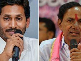 Andhra Pradesh Chief Minister Jagan Mohan Reddy and Telangana Chief Minister K. Chandrasekhar Rao | Commons