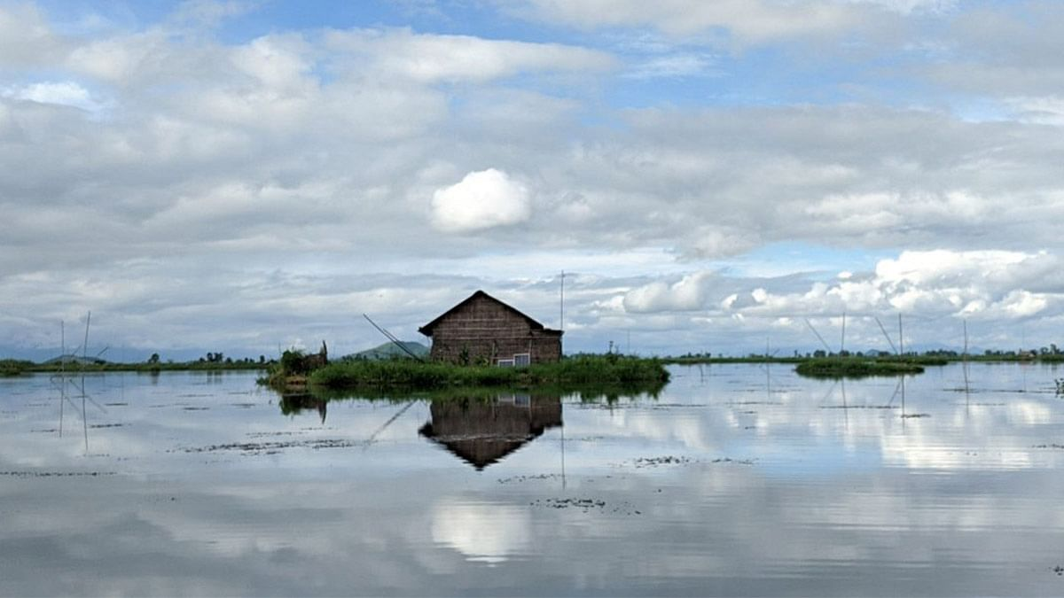 New 20-hectare 'island' found floating on Loktak Lake in Manipur has left officials baffled