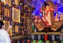 File photo | West Bengal CM Mamata Banerjee inaugurates a Durga Puja pandal in Kolkata, 18 Oct |PTI