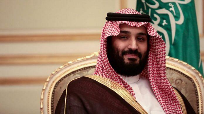 File photo of Saudi Arabia's Mohammed bin Salman   Simon Dawson/Bloomberg