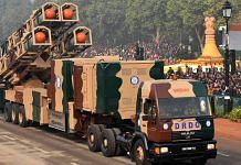 DRDO's Nirbhay missile at the Republic Day parade | Photo: PIB via Wikipedia