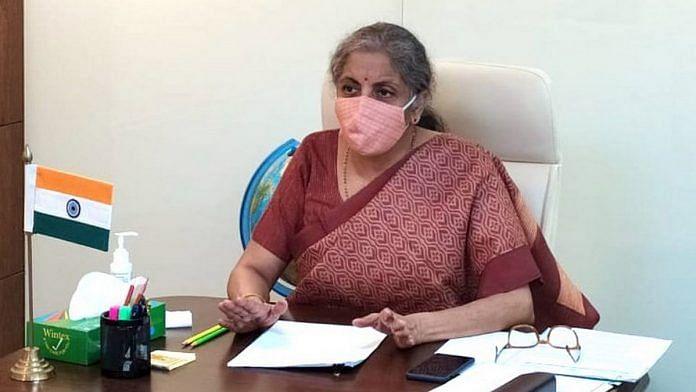 Finance Minister Nirmala Sitharaman | Photo: ANI