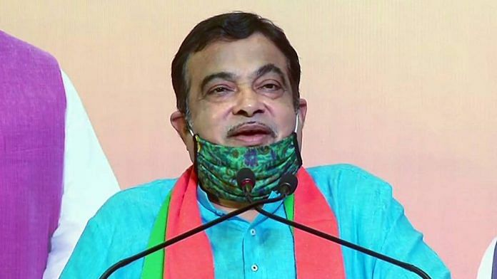 Union Minister Nitin Gadkari in June 2020 | ANI