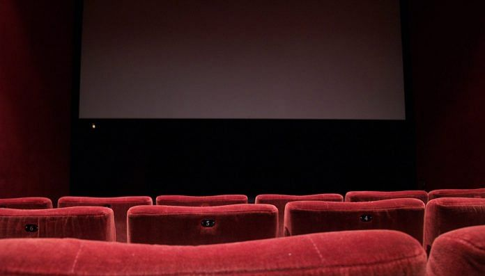 Representational image of a movie theatre | Wikimedia Commons