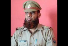 Suspended UP Police sub-inspector Intsar Ali | By special arrangement