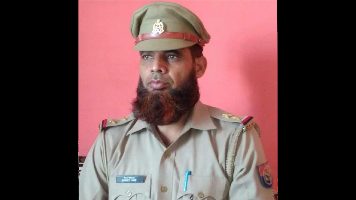 UP Muslim cop suspended for keeping beard without permission, he says plea pending for a year